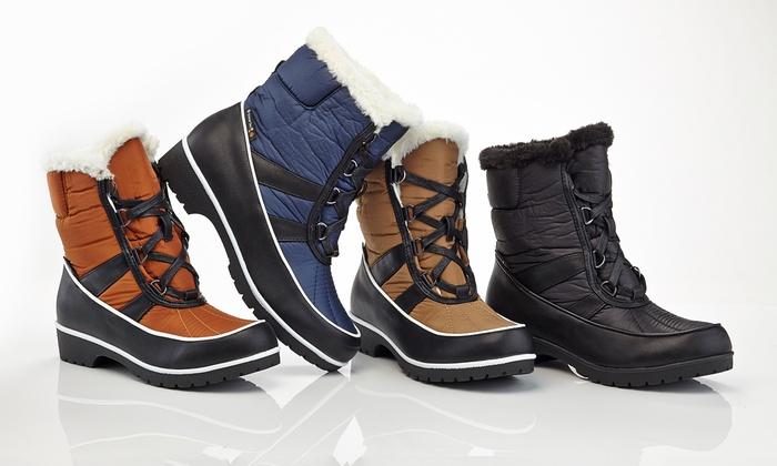 Snow Tec Women's Waterproof Snow Boots