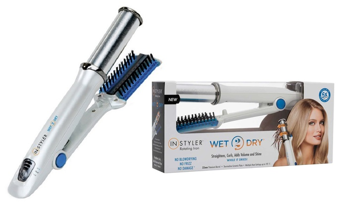Up to off instyler wet dry barrel styler groupon