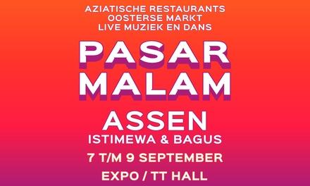 Ticket voor Pasar Malam Assen van 7 t/m 9 september 2018