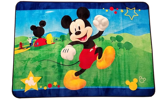 Up To 39 Off On Children S Disney Area Rugs Groupon Goods