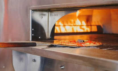 image for Create-your-own <strong>Pizzas</strong> at Firestorm <strong>Pizza</strong> (Up to 40% Off)