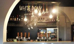 White Pony Pub: Menu sandwiches e 3 birre abbinate a 2 passi da Prato della Valle da White Pony Pub (sconto fino a 65%)
