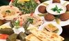 Med Cafe & Lounge - Central San Diego: Three Lunch Visits, Dinner for Two, Four or More at Med Cafe & Lounge (Up to 50% Off)