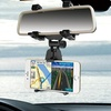 Rear-View Mirror-Mount Stand