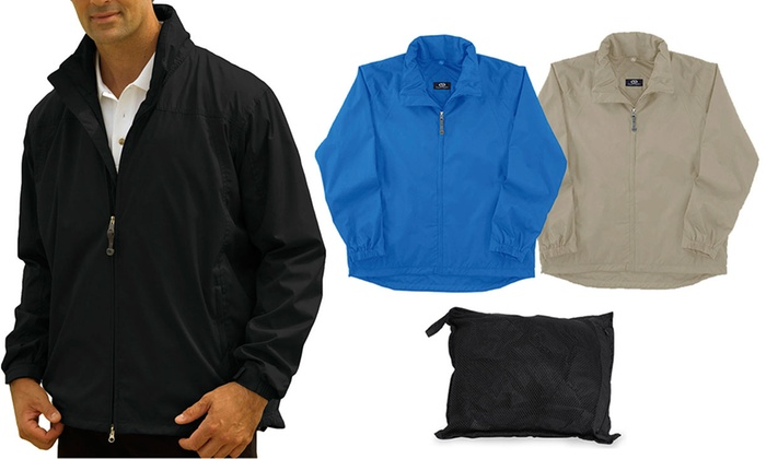 Men&39s Lightweight Rain Jacket | Groupon Goods