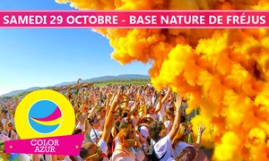 Agence Intégrale: 1 Billet pour le Color Azur, l'événement le plus coloré de la Côte d'Azur, dès 14 €