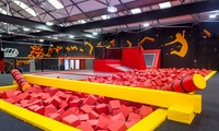 One-Hour Bouncing Session for Up to Four at Infinity Trampoline Park (Up to 48% Off)