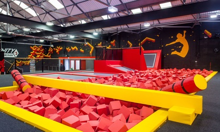 One-Hour Toddler Bounce Session for Two, Three or Four at Infinity Trampoline Park (Up to 25% Off)