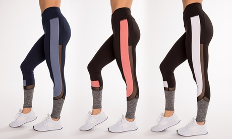 Hot Kiss Women's Fitness Active Workout Leggings (3-Pack) f517660c-b61f-40a4-a9c2-56734e21779f
