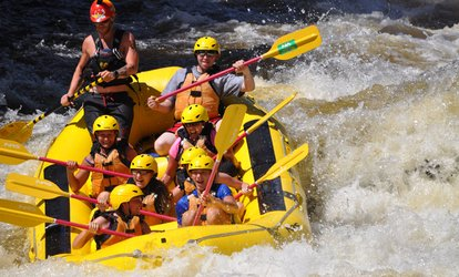 Up to 58% Off a Whitewater-Rafting from Northwoods Adventures