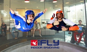 iFly Indoor Skydiving: Indoor Skydiving Flights Package for One Person at iFLY Indoor Skydiving, Gold Coast & Sydney (up to $189 Value)