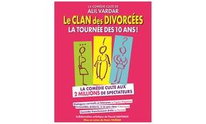 Café Théâtre les Minimes: 2 places pour ''Le clan des divorcées'', plusieurs dates disponibles à 29 € au Café Théâtre les Minimes