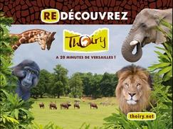 Parc zoologique de Thoiry: Billet entrée unique adulte ou enfantau parc zoologique de Thoiry avec accès au safari, château et jardins à 14,50 €