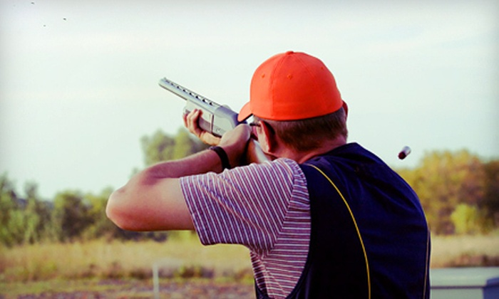Amelia Shotgun Sports - Yulee: $32 for 90 Minutes of Clay Shooting with Equipment Rental and 50 Targets at Amelia Shotgun Sports ($64 Value)