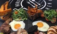 Meat Feast Mixed Grill Sharing Platter with Two Sides and a Drink Each for Two at Health & Fitness Kitchen (50% Off)