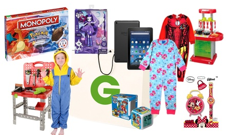 Kid's Mystery Onesie Deal With Chance To Win Amazon Tablet or Toys for £5.99