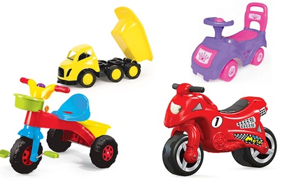 Dolu RideOn Toy in Choice of Design and Colour