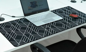 Full Desk Coverage Printed Mouse Pad