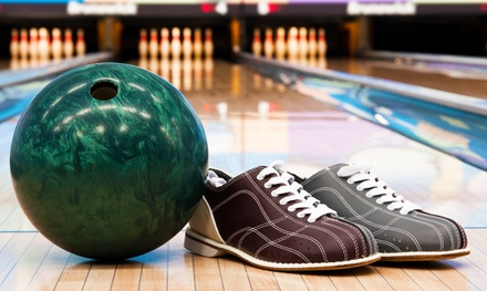 Two Games of Bowling with Shoes, Pizza, and Soda for Two, Four, or Six at Chacko's Family Bowling Center (58%Off)