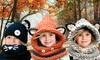 Groupon Goods Global GmbH: Sciarpa e cappuccio per bambini disponibili in 3 modelli