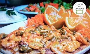 Donnastta Frutos do Mar: Donnastta Frutos do Mar -  Bom Retiro: linguado à belle meuniére ou camarão do chef  + acompanhamentos para 2 pessoas