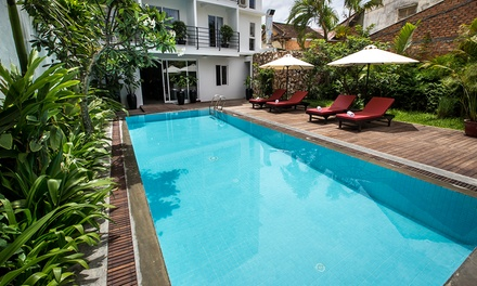 Cambodia, Siem Reap: 24 Nights in a Deluxe Room with Daily Breakfast and Late Checkout at Hollywood Angkor Boutique