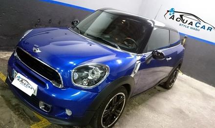 1 o 3 lavados interiores y exteriores de vehículo con opción a limpieza de tapicería desde 12,95 € en AcuaCar Style Wash