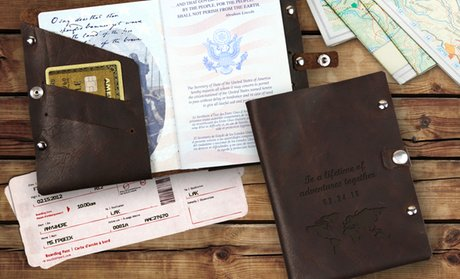 Up to 83% Off Custom Passport Holders from Monogram Online