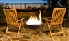 Outdoor Garden Rustic Fire Pit