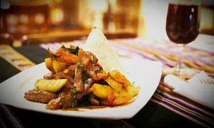 Peruvian Cuisine for Two or Four at Chicha Bistro (50% Off)