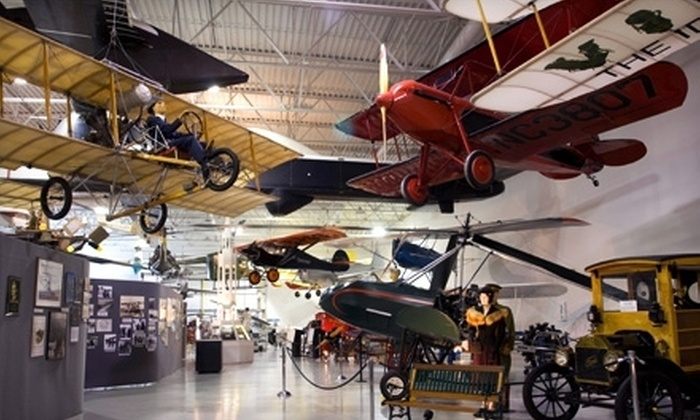 Hiller Aviation Museum - San Carlos: $20 for a Museum Visit for Up to Four at Hiller Aviation Museum in San Carlos (Up to $47 Value)