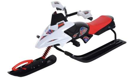 Snowmobile-Style Sled for Adults or Kids aged 7 and Up (Shipping Included)
