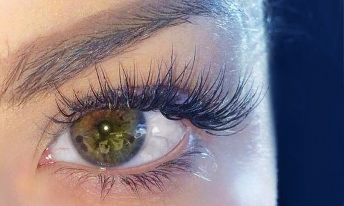 Eyelash extensions fabulash beauty groupon full set half set or cat eye set of eyelash extensions with optional pmusecretfo Image collections