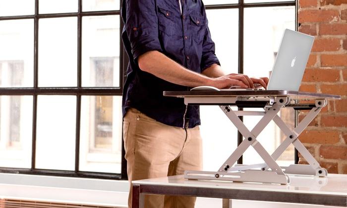 elevate adjustable standing desk