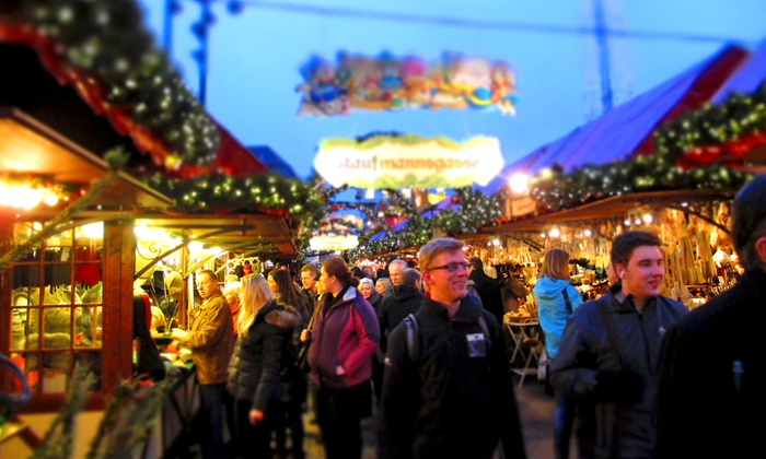Minneapolis Holiday Market - Nicollet Mall & 11th Street Peavey Plaza: Admission and Carousel Rides at Minneapolis Holiday Market (Up to 50% Off). Three Options Available.