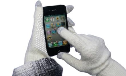 Winter-Handschuhe für Touchscreen-Smartphones in Weiß  (Munchen)