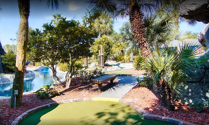 Up To 50 Off All Day P At Hawaiian Rumble Minigolf