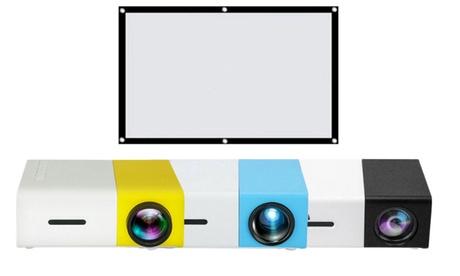 Proyector con opción a pantalla