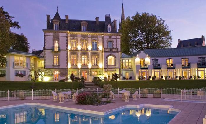 Finistère : 1 à 3 nuit(s) avec petit-déjeuner, kir breton en option, au Relais du Silence Le Clos de Vallombreuse pour 2