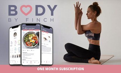 $11.99 for One Month Subscription to Body By Finch (Up to $24.95 Value)