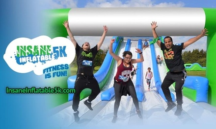 $34 for Entry for One to Insane Inflatable 5K on Saturday, August 10, 2019 ($58.55 Value)