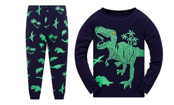 Kids' Dinosaur Pyjamas Set