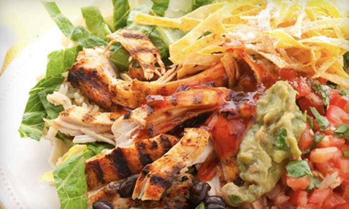 Costa Vida Fresh Mexican Grill - Northwest Oklahoma City: Mexican Food at Costa Vida Fresh Mexican Grill (Half Off). Two Options Avaialble.