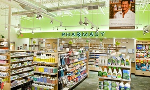 45% Off Health and Beauty Products  at Pharmaca Integrative Pharmacy, plus 6.0% Cash Back from Ebates.