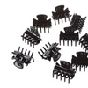 34 Pack of Strong Hold Hair Claw Clips