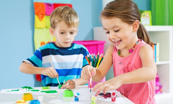Wonder Years Child Care - Brunswick: Four Weeks of Preschool Childcare from Wonder Years Child Care (45% Off)