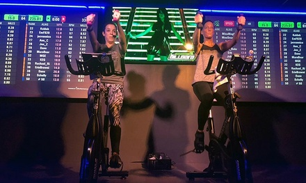 Four or Eight Premium Spin Classes at Club Cycle (Up to 69% Off)