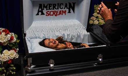 Admission for 1-6 People to the American Scream Halloween Selfie Museum, Through November 3 (Up to 29% Off)