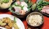大阪府/なんば≪お造り盛り3~5種・季節の逸品・煮物・揚げ物・アオサのぞうすいなど≫