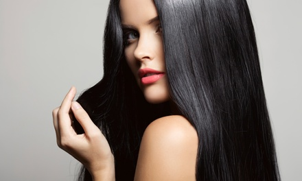 Haircut, Shampoo, Style, and Partial or Full Highlights at Ammara Salon & Spa (Up to 52% Off)